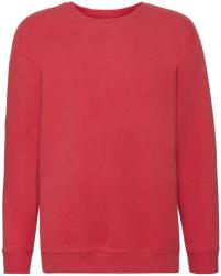 Fruit of the Loom Bluza Jersey Copii Red 128 (7-8)