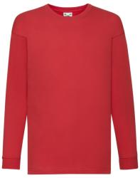 Fruit of the Loom Bluza Diego Red 128 (7-8)