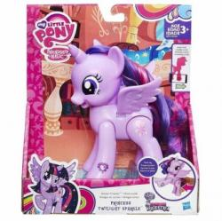 Hasbro My Little Pony Princess Twilight Sparkle misca picioare si aripi B8914
