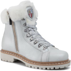 New Italia Shoes Trappers NEW ITALIA SHOES - 2015434A/2 White Damă