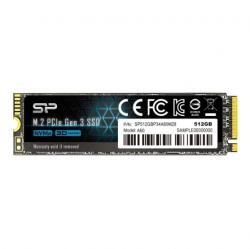 Silicon Power SSD Silicon Power P34A60 512GB PCI Express 3.0 x4 M. 2 2280 (SP512GBP34A60M28)