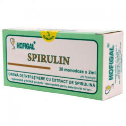 Hofigal Cremă Spirulin, Hofigal, 30x2ml monodoze