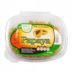 Sanovita Papaya confiat, 150 grame