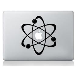 Atom laptop sticker macbook