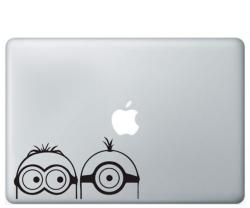 Minions mac stickers