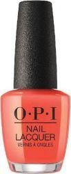 OPI Lac de unghii OPI Tempura-ture is Rising 15 ml (NLT89)