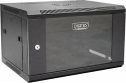 DIGITUS Rack Server Netrack Digitus DN-W19 06U/450/B 6U 600x450mm RAL 9004 Negru (DN-W19 06U/450/B)