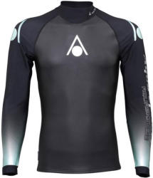 Aqua sphere aquaskin top long sleeve men black/turquoise m