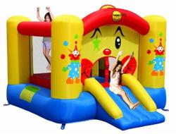 Happy Hop - Slide Clown Bouncer (HH9201)