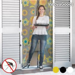 InnovaGoods Perdea impotriva insectelor, inchidere magnetica, InnovaGoods Home Pest, 209 x 99 cm (V0100739)