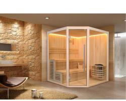 SuperSpa Sauna traditionala Super Spa, temperatura reglabila, 6 kW, 1800 x 1800 x 2100 mm (WS-CC01A)